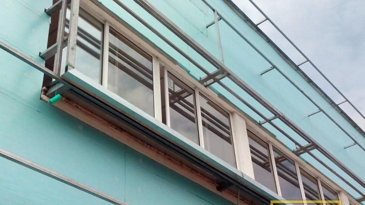 Em obra - pormenor janela